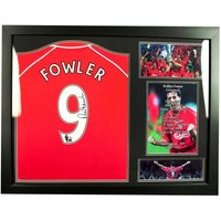 Liverpool F.C. Fowler Signed Shirt (Framed)