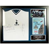 Tottenham Hotspur F.C. Ardiles & Villa Signed Shirt (Framed)