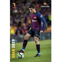 F.C. Barcelona Poster Coutinho 18