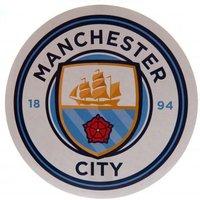 Manchester City F.C. Large Crest Sticker