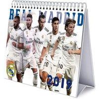 Real Madrid F.C. Desktop Calendar 2019