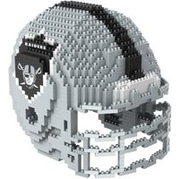 Oakland Raiders 3D BRXLZ Team Helmet