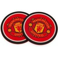 Manchester United F.C. 2pk Coaster Set