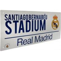 Real Madrid F.C. Street Sign