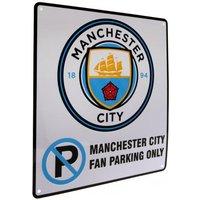 Manchester City F.C. No Parking Sign