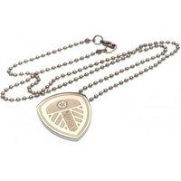Leeds United F.C. Stainless Steel Pendant & Chain LG