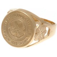Celtic F.C. 9ct Gold Crest Ring Medium