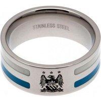 Manchester City F.C. Colour Stripe Ring Medium EC