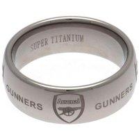 Arsenal F.C. Super Titanium Ring Large