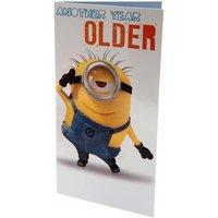 Despicable Me Minion Birthday Card