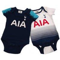 Tottenham Hotspur F.C. 2 Pack Bodysuit 6/9 mths ST