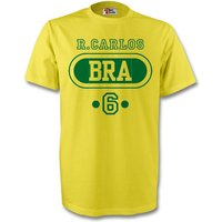David Luiz Brazil Bra T-shirt (yellow)
