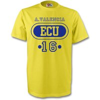 Juan Cuardado Colombia Col T-shirt (yellow)