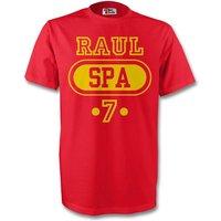 Raul Spain Spa T-shirt (red) - Kids
