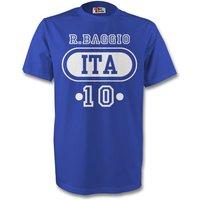 Paolo Maldini Italy Ita T-shirt (blue)