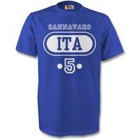 Alessandro Del Piero Italy Ita T-shirt (blue)