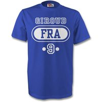 Olivier Giroud France Fra T-shirt (blue) - Kids