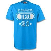 Edinson Cavani Uruguay Uru T-shirt (sky Blue)