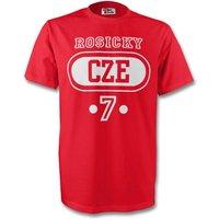 Tomas Rosicky Czech Republic Cze T-shirt (red)