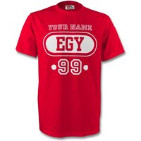 Egypt Egy T-shirt (red) + Your Name (kids)