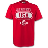 Clint Dempsey United States Usa T-shirt (red)