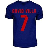 David Villa Barcelona Hero T-shirt (navy)
