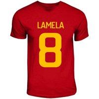 Erik Lamela Roma Hero T-shirt (red)