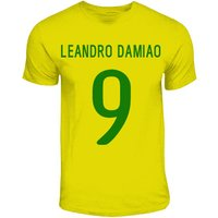 Leandro Damaio Brazil Hero T-shirt (yellow)