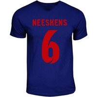 Johan Neeskens Barcelona Hero T-shirt (navy)