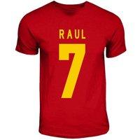 Raul Spain Hero T-shirt (red)