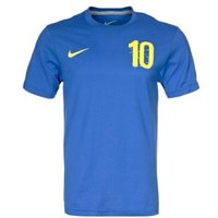 2012-13 Sweden Ibrahimovic Hero T-shirt (blue)