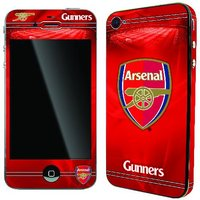 Official Arsenal iPhone 4 Skin