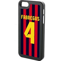 Cesc Fabregas Iphone 4 Cover (red-blue-yellow)