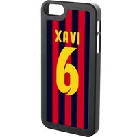 Xavi Hernandez Iphone 5 Cover (red-blue-yellow)