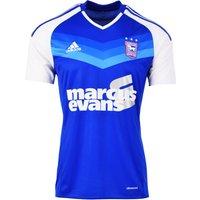 2016-2017 Ipswich Town Adidas Home Football Shirt