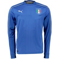 2016-2017 Italy Home Long Sleeve Puma Football Shirt