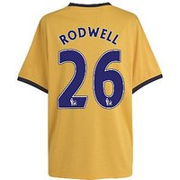2011-12 Everton Away Football Shirt (Rodwell 26)