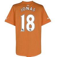 2011-12 Newcastle Puma Away Football Shirt (Jonas 18)