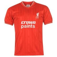 1986 Liverpool Home Crown Paints Shirt