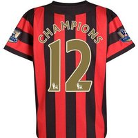 2011-12 Manchester City Away Champions Shirt (Kids)