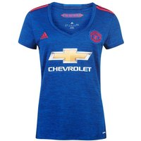 2016-2017 Man Utd Adidas Womens Away Shirt