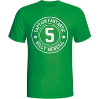 Billy Mcneil Celtic Captain Fantastic T-shirt (green)