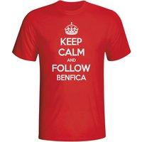 Keep Calm And Follow Benfica T-shirt (red)