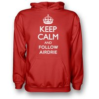 Keep Calm And Follow Airdrie Hoody (red) - Kids