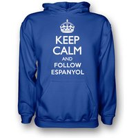 Keep Calm And Follow Espanyol Hoody (blue)