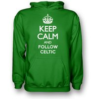 Keep Calm And Follow Celtic Hoody (green)