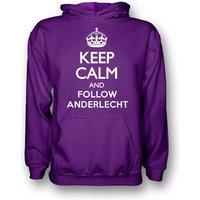 Keep Calm And Follow Fiorentina Hoody (purple)
