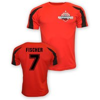 Viktor Fischer Ajax Sports Training Jersey (red)