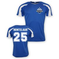 Klaas Jan Huntelaar Schalke Sports Training Jersey (blue)