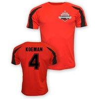 Ronald Koeman Feyenoord Sports Training Jersey (red)
